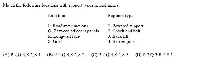 online practice test - Mining Engineering