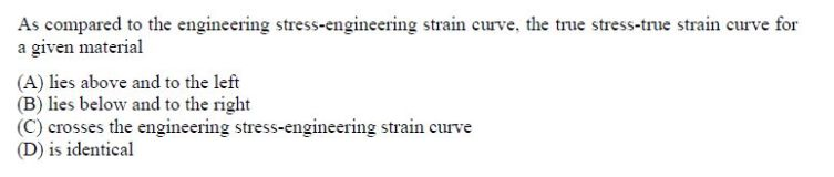 online practice test - Metallurgical Engineering