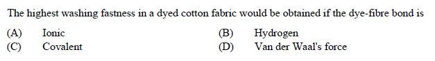 online practice test - Textile Engineering and Fibre Scienc